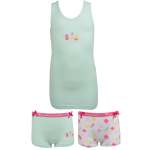 Fun2wear meisjes set 2 boxers 'Ice cream' mint